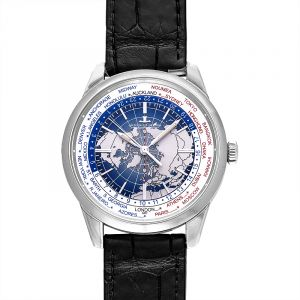 Geophysic Universal Time Automatic Blue Dial Men's Watch