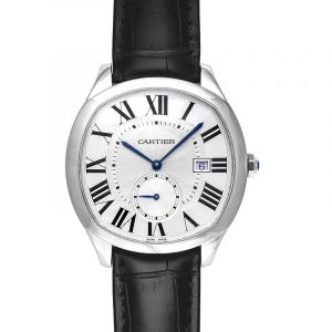Drive de Cartier 41.00 mm Automatic Silver Dial Stainless steel Men's Watch