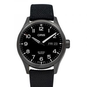 Big Crown ProPilot Big Day Date Automatic Black Dial Men's Watch