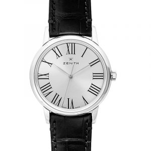 Elite Automatic Silver Dial Men's Watch