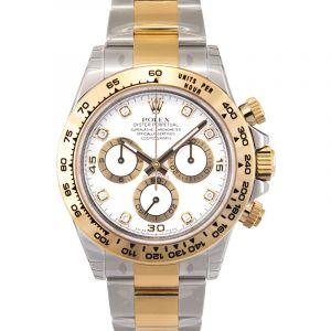 Cosmograph Daytona 18ct Yellow Gold Automatic White Dial Men's Watch