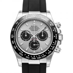 Cosmograph Daytona 18ct White Gold Automatic Silver Dial Men's Watch