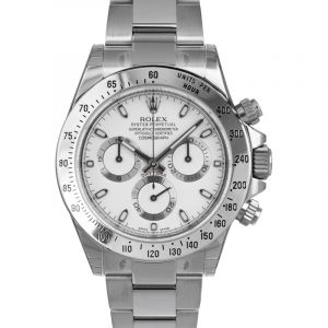 Cosmograph Daytona Steel Automatic White Dial Men's Watch