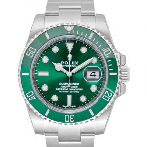 Submariner Steel Automatic Green Dial Men's Watch