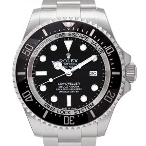 Rolex Deepsea Black Dial Automatic Men's Stainless Steel Oyster Watch 126660BKSO