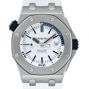 Royal Oak Offshore White Dial Men's Watch