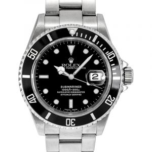 Submariner Date Black/Steel 40mm