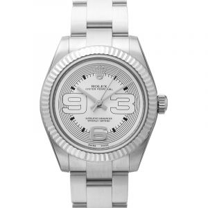 Oyster Perpetual Silver Steel 31mm
