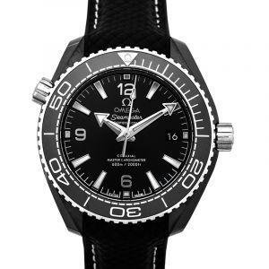 Omega Seamaster Planet Ocean Automatic Black Dial Ladies Watch