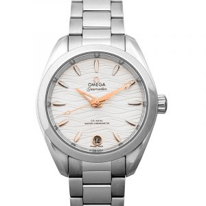 Seamaster Aqua Terra 150M Co-Axial Master Chronometer 34 mm Automatic Silver Dial Steel Ladies Watch
