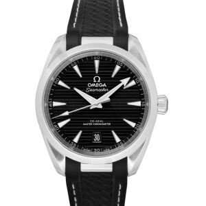 Seamaster Aqua Terra 150M Co‑Axial Master Chronometer 38 mm Automatic Black Dial Steel Men's Watch