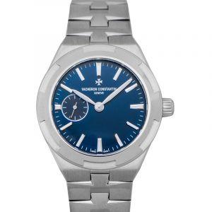 Overseas Blue Dial Automatic Women's Watch