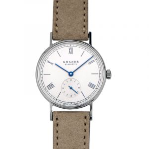 Nomos Glashütte Ludwig 33 Silver/Leather 32.8mm