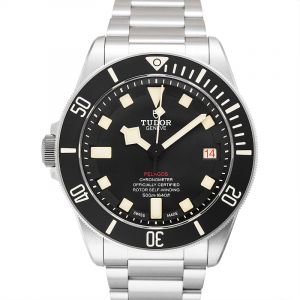 Pelagos LHD Titanium Automatic Black Dial Men's Watch