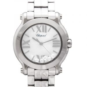 Happy Sport Quartz Mother of pearl Dial Diamonds Ladies Watch