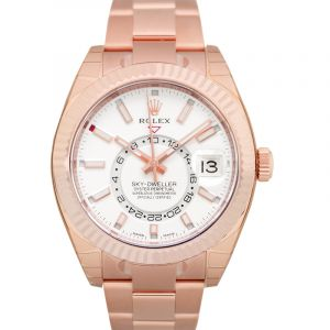 Rolex Sky-Dweller Everose / White/Rose Gold 42mm
