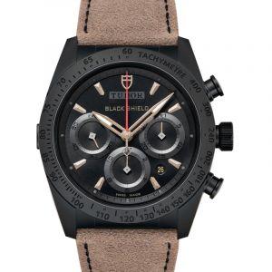 Fastrider Chrono  Automatic Black Dial Men's Watch 42000CN-BRLS