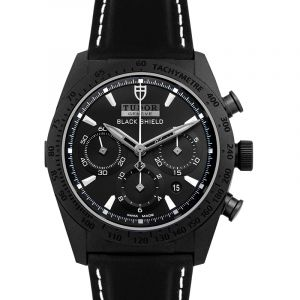 Fastrider Chrono  Automatic Black Dial Men's Watch 42000CN
