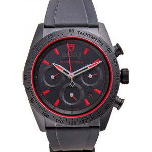 Fastrider Chrono Automatic Black Dial Men's Watch