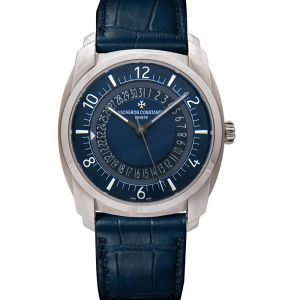 Vacheron Constantin Quai de L'ile  Automatic Blue Dial Men's Watch 4500S/000A-B364