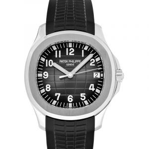 Aquanaut Black Dial Men's Watch