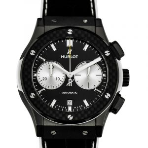 Classic Fusion Chronograph Juventus Automatic Black Dial Ceramic Men's Watch