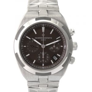 Overseas Brown Dial Automatic Men's Watch