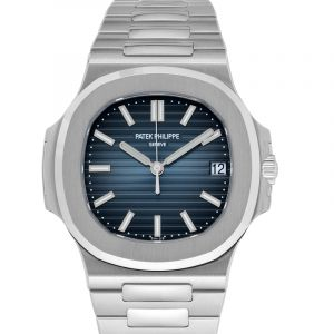 Nautilus Blue Dial Men's Watch