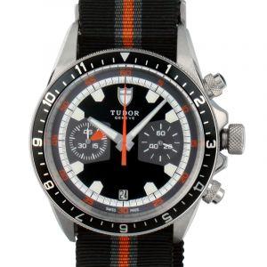 Heritage Chrono   Black Dial Men's Watch 70330N-BIDBFSP