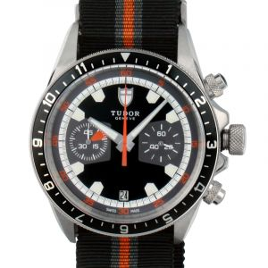 Heritage Chrono Black Dial Men's Watch