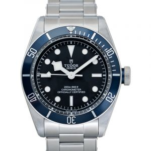 Heritage Black Bay  Automatic Black Dial Men's Watch 79230B-0008