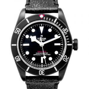 Heritage Black Bay Stainless Steel Automatic Black Dial Men's Watch