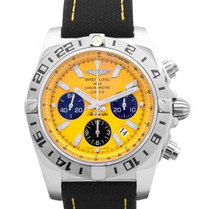 Chronomat 44 Limited Edition Yellow Steel/Textile 44mm