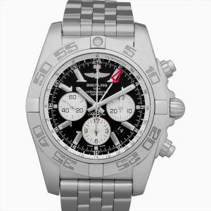 Chronomat GMT Black Dial Chronograph Automatic Men's Watch