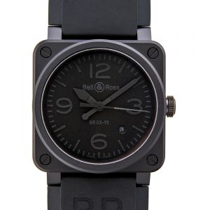 Instruments BR 03 92 Phantom Ceramic Men's Watch