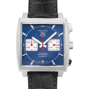 Monaco Calibre 12 Automatic Blue Dial Men's Watch