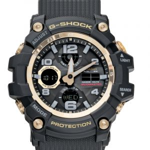 Casio G-shock Mudmaster Black & Gold