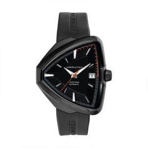 Ventura Elvis80 Automatic Black Dial Black PVD Men's Watch