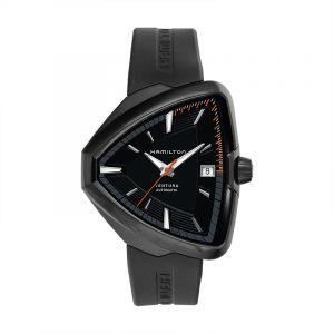 Ventura Elvis80 Automatic Black Dial Black PVD Men's Watch