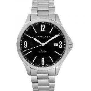Khaki Aviation Automatic Black Dial  Men's Watch