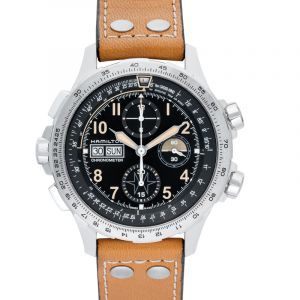 Khaki X-Wind Chronograph Automatic Black Dial Men's Limited Edition Watch