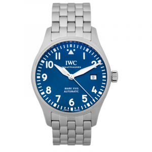 Pilot's Watch Mark XVIII Edition Le Petit Prince Automatic Blue Dial Men's Watch