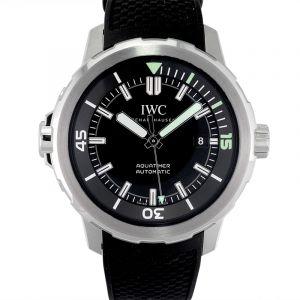 Aquatimer Automatic Black Dial Men's Watch