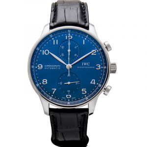 Portugieser Chronograph Automatic Blue Dial Men's Watch