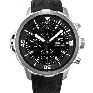 Aquatimer Chronograph Automatic Black Dial Men's Watch
