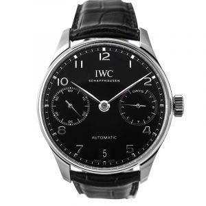IWC Portugieser Automatic Black Dial Men's Watch IW500703