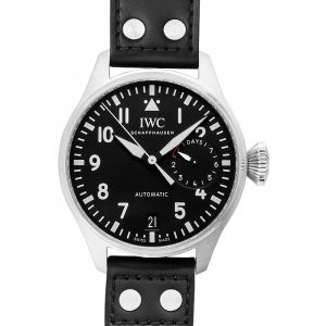 Big Pilot's Automatic Black Dial Men's Watch