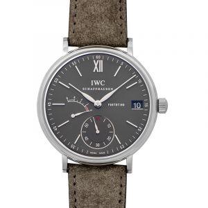 Portofino Manual-winding Grey Dial Men's Watch