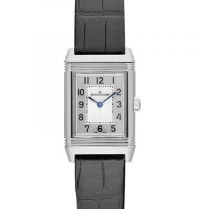 Reverso Classic Small Manual-winding Silver Dial Ladies Watch