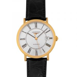 Longines Elegant Automatic White Dial Unisex Watch